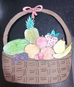 Fruit Basket Craft Idea For Kids Crafts And Worksheets For