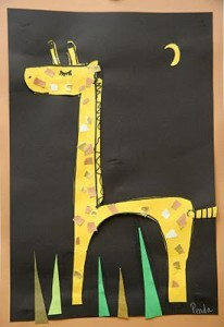 giraffe crafts for kids