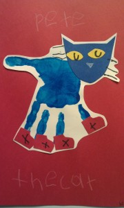 handprint cat craft