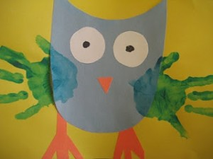Owl craft idea for kids Crafts