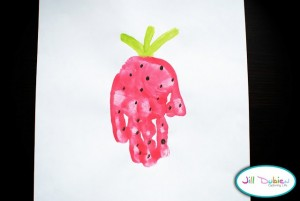 handprint strawberry