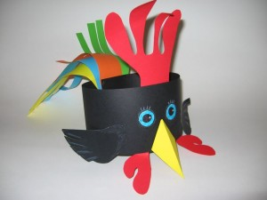 hen headband craft