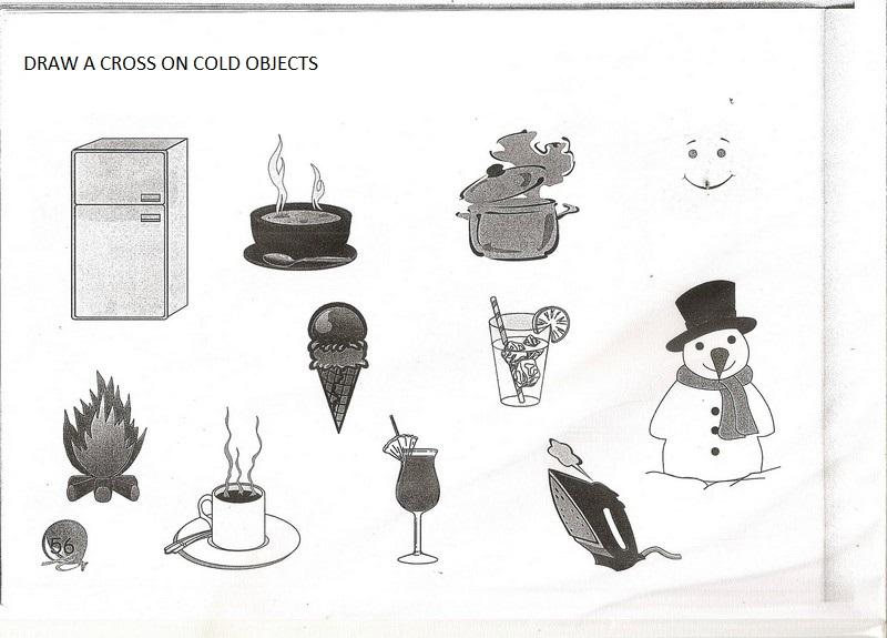 Hot or cold activity worksheets for preschool – Hot and Cold Worksheets for Kindergarten