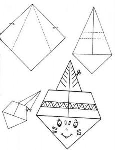 indian origami craft
