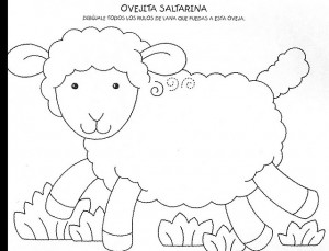 lamb trace worksheet