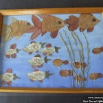 leaf fish craft