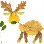 leaf reeindeer craft
