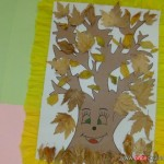 leaf tree craft for kids