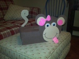monkey box craft