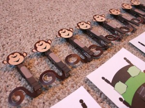 monkey clothespin craft