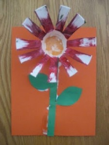 Recycled Flower Craft For Kids Crafts And Worksheets For