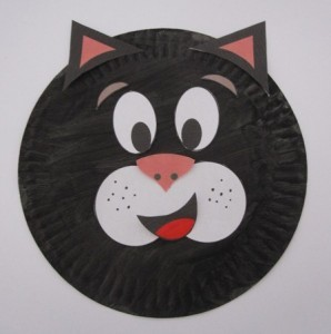 paper plate cat craft idea for kids (1)