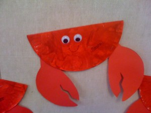 paper plate crab 1