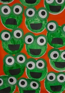 paper plate frog craft for kids  sc 1 st  Crafts and Worksheets for PreschoolToddler and Kindergarten & Paper plate crafts idea for kids | Crafts and Worksheets for ...