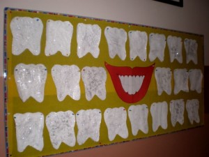 paper tooth craft