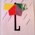 paper umbrella craft for kids