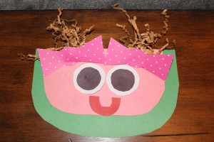 paper waterlemon craft