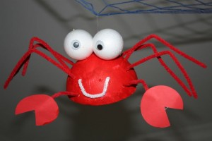 ping-pong ball crab