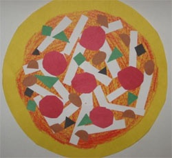 pizza craft for kids