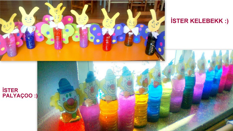 Crafts actvities and worksheets for preschool toddler and for Bottle craft