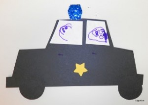 police-car-craft