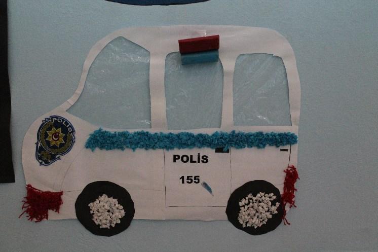 police car crafts