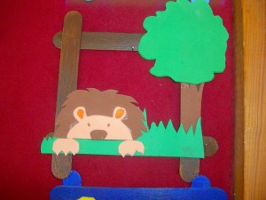popsicle frame craft