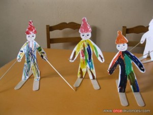 popsicle stick winter craft