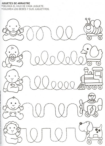 Line Art Kindergarten : Crafts actvities and worksheets for preschool toddler