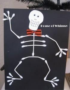 qtip skeleton craft
