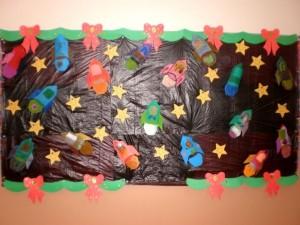 Rocket craft idea for kids Crafts