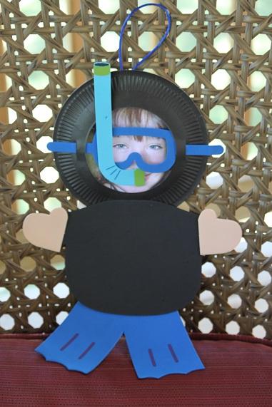 scuba craft idea for preschool kids