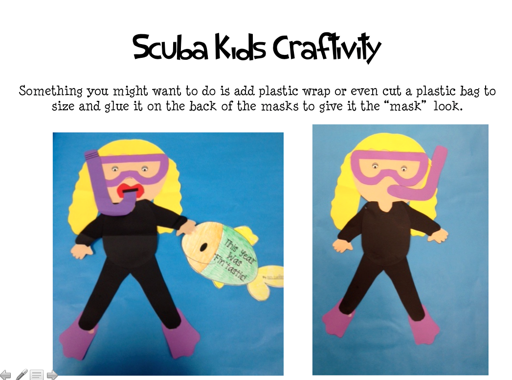Scuba Crafts on Musical Instruments Craft Idea For Kids