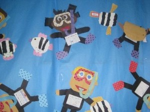 scuba diver craft idea for kids