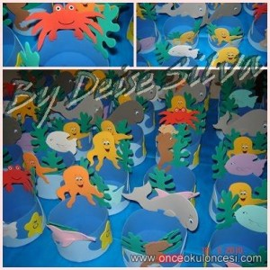sea animal headband craft
