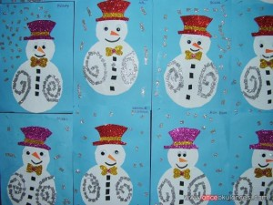snowman craft idea for kids (2)