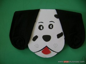 socks ear dog craft