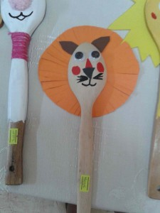 spoon lion craft