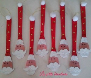spoon santa craft