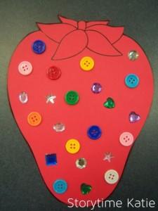 Fruit craft idea for kids Crafts