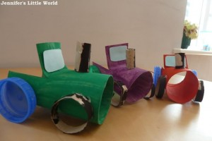 Vehicles craft idea for kids
