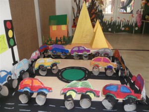 toilet paper roll car craft