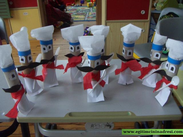 toilet paper roll chef craft