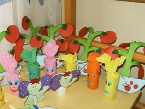 tomato craft for kids