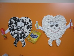 tooth bulletin board