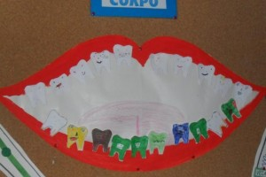 tooth craft idea for kids