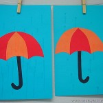 umbrella craft for kids
