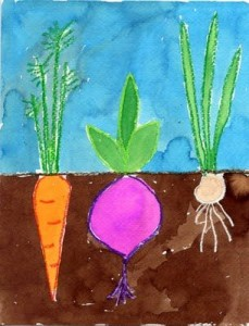 vegetables craft