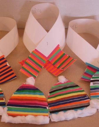 winter clothes craft