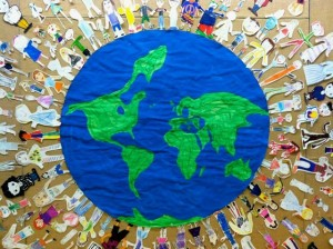 Around the World Bulletin Board